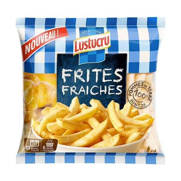 frites fraiches lustucru photo film stylisme culinaire recette food style rhone lyon packaging pack