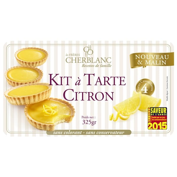 KIT TARTE CITRON LEDU