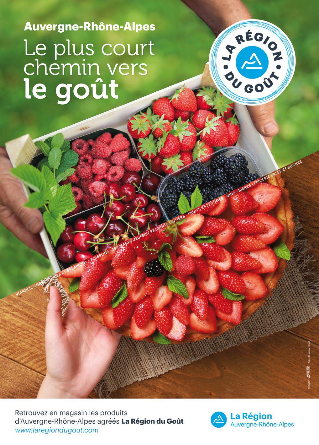photo culinaire affichage  région