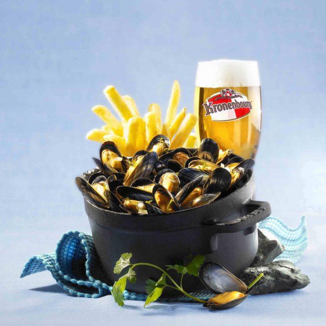 moule frite bière photo film stylisme culinaire recette food style rhone lyon affichage
