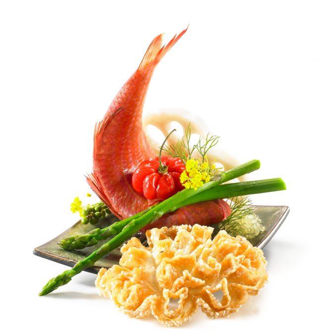 rouget à la chinoise photo film stylisme culinaire recette food style rhone lyon