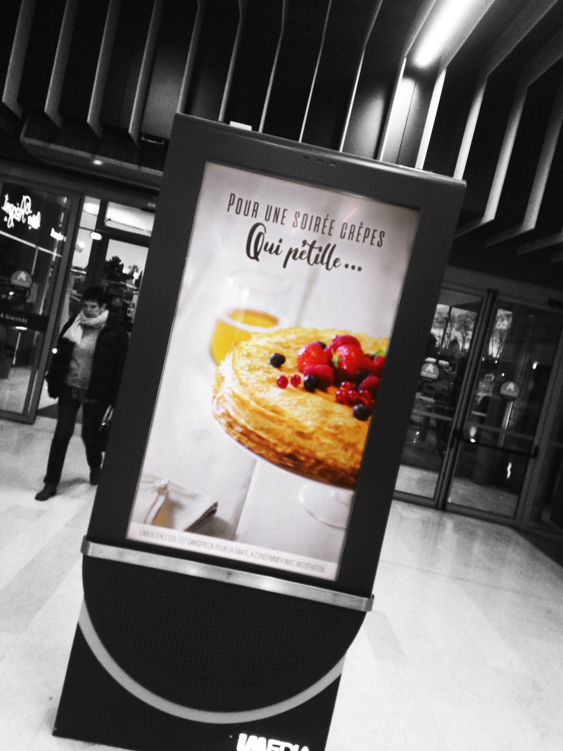 photo film culinaire recette food style rhone lyon affichage dynamique