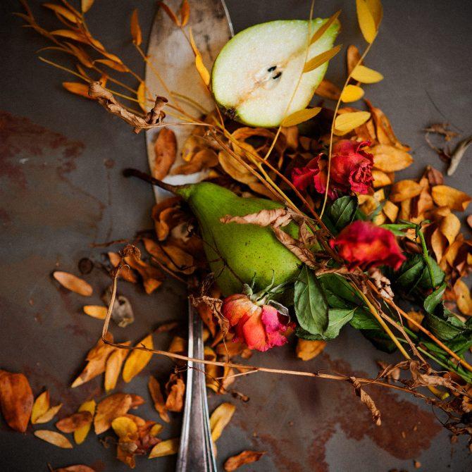 nature morte poire photo film stylisme culinaire recette food style rhone lyon