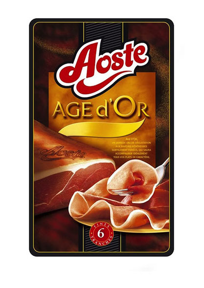 Aoste age d'or jambon photo film stylisme culinaire recette food style rhone lyon packaging pack