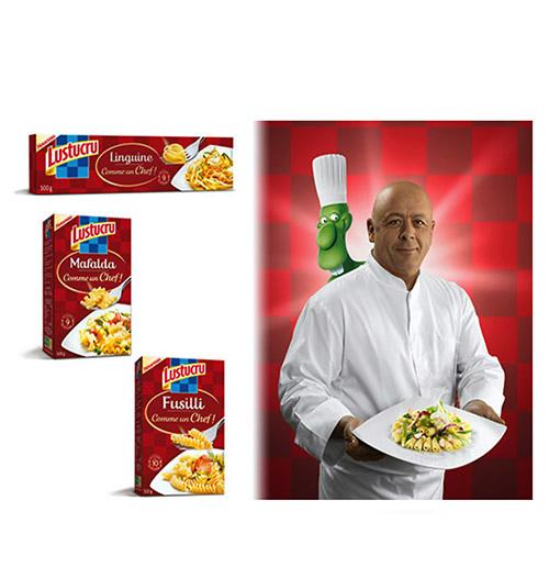 lustucru pâtes Marx  photo film stylisme culinaire recette food style rhone lyon packaging pack
