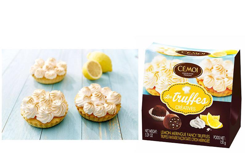 cemoi tartelette truffe citron photo film stylisme culinaire recette food style rhone lyon packaging pack